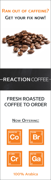Reaction Coffee (vertical)