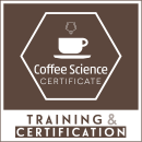 coffee science certificate (CSC) logo