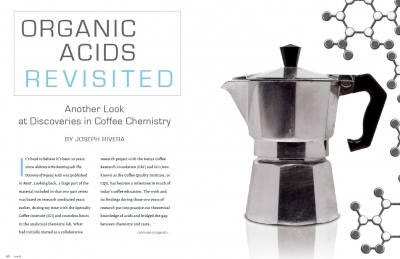 Organic Acids Revisited - Roast Magazine