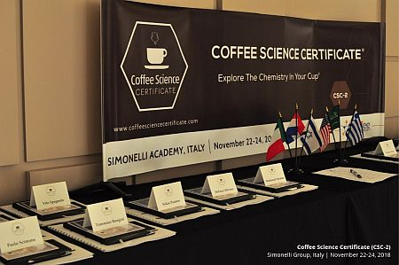 Coffee Science Certificate (CSC-2) comes to Italy