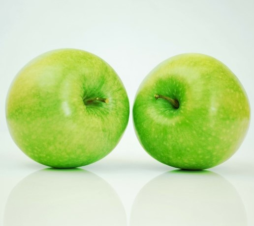 Malic Acid in Unripe Apples