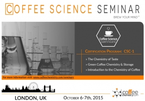 Coffee Science Certificate Returns to London, UK