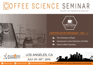 Coffee Science Seminar coming to Los Angeles, CA