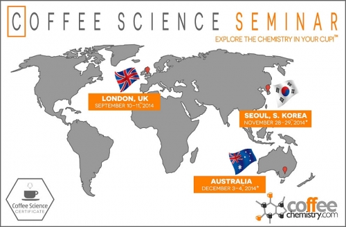 Coffee Science Certificate (CSC) Expands Internationally