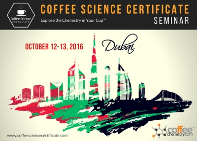 Coffee Science Seminar Coming to Dubai, UAE