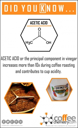 Roasting and Acetic Acid