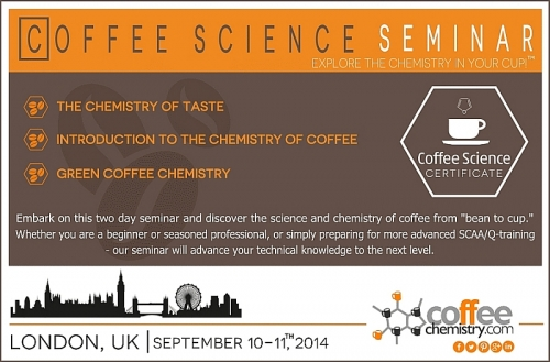 Coffee Science Seminar (CSC) coming to London, UK