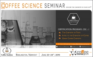 Coffee Science Seminar Coming to Burlington, VT