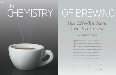 """Check Out our """"Chemistry of Brewing"""" Article on Roast Magazine"""