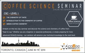 Coffee Science Seminar Coming to Toronto, Canada